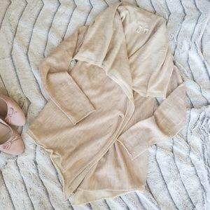 *Rare* Moth Blush Double Layer Cardigan